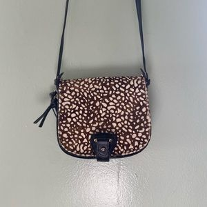 Long Strap Calf-hair Purse